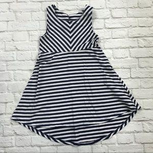 Carter's Navy Striped Dress